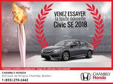Soyez toujours gagnant avec la Honda Civic