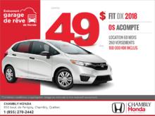Procurez-vous la Honda Fit 2018!