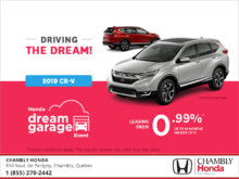 Lease the 2019 CR-V!