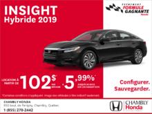 Louez la Honda Insight 2019!