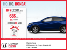 Louez la Honda HR-V 2018 aujourd'hui!