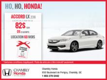Obtenez la Honda Accord 2018!