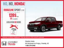 Obtenez la Honda Ridgeline 2018