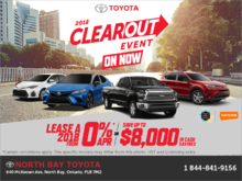 Toyota 2018 monthly event!
