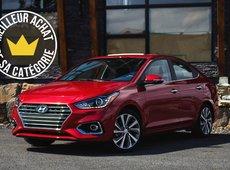 Meilleurs achats 2019 du Guide de l'auto : Hyundai Accent