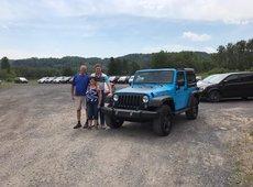 Un Jeep Wrangler Chief édition !