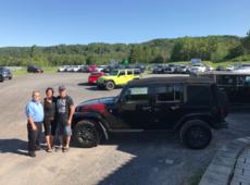 Des amoureux de la marque Jeep !