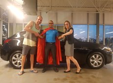 Congratulations to Émilie Couture for her new car !