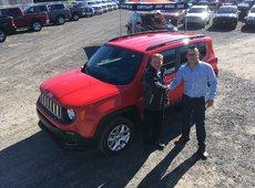 Félicitations Jérôme pour ton beau Jeep !