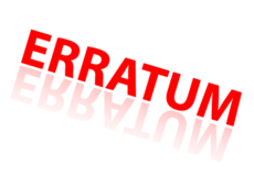 Erratum - Prix erronés plateformes web
