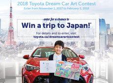 2018 Toyota Dream Car Art Contest