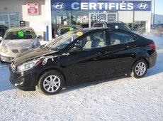 Hyundai Accent L Bas Km ** Une seule propriétaire ** 2013