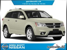 2014 Dodge Journey R/T AWD, Leather, Sunroof, DVD, Nav, 7 Seat