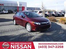 2012 Honda Civic EX-L | HEATED LEATHER SEATS |  AUTOMATIC