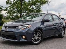 Toyota Corolla LE LEATHER GPS MAG SUNROOF 2014