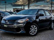 Toyota Corolla LE BACK CAMERA LOW KM 2015