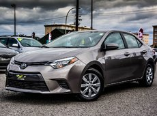 Toyota Corolla LE A/C BACK CAMERA HEATED SEATS 2015