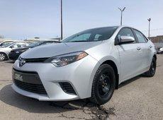 Toyota Corolla LE BACK CAMERA A/C POWER GROUP 2015