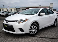Toyota Corolla CE A/C POWER GROUP 2016