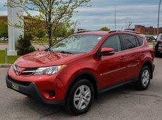 Toyota RAV4 LE, HEATED SEATS, BLUETOOTH, BACK UP CAMERA 2015