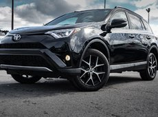 Toyota RAV4 SE GPS CUIR 4X4 SUNROOF FULL 2017