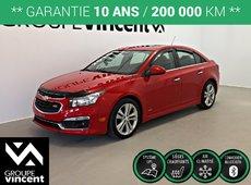 Chevrolet Cruze RS GPS CUIR ** GARANTIE 10 ANS ** 2016
