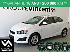 Chevrolet Sonic LS ** GARANTIE 10 ANS ** 2013