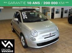 Fiat 500C CONVERTIBLE, Pop**GARANTIE 10 ANS** 2012