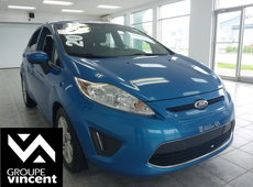 Ford Fiesta SE **GROUPE ÉLECTRIQUE** 2012
