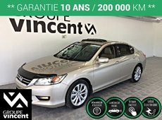 Honda Accord Touring V6**CUIR/ NAV** 2014