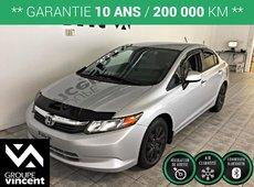 Honda Civic Sdn LX**Bluetooth** 2012