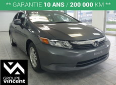Honda Civic LX **BLUETOOTH** 2012