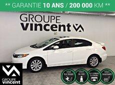Honda Civic EX-L ** GARANTIE 10 ANS ** 2012