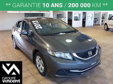 Honda Civic LX**Sièges chauffants** 2013