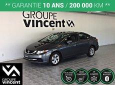 Honda Civic LX**CLIMATISEUR** 2013