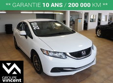 Honda Civic LX**MAGS** 2013