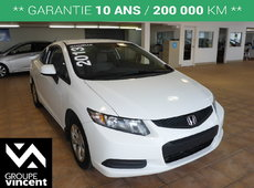 Honda Civic COUPE LX**GARANTIE 10 ANS** 2013