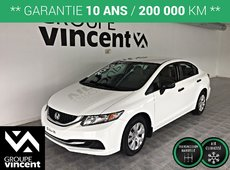 Honda Civic DX**GARANTIE 10 ANS** 2013