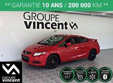 Honda Civic COUPÉ LX **GARANTIE 10 ANS** 2013