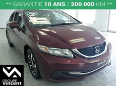 Honda Civic EX **TOIT | BLUETOOTH | MAGS** 2014