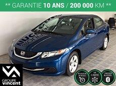 Honda Civic LX**BLUETOOTH/ CAMÉRA DE RECUL** 2015