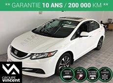 Honda Civic EX**CAMÉRA DE RECUL/ MAGS/ SIÈGES CHAUFFANTS** 2015