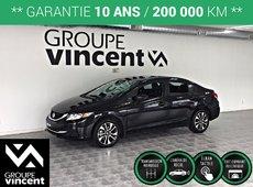 Honda Civic EX ** GARANTIE 10 ANS** 2015