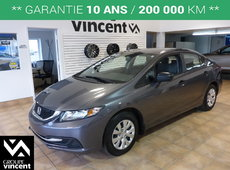 Honda Civic DX**GARANTIE 10 ANS** 2015