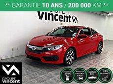Honda Civic COUPÉ LX  **GARANTIE 10 ANS** 2018