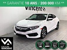 Honda Civic LX COUPÉ **GARANTIE 10 ANS** 2018