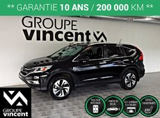 Honda CR-V TOURING AWD GPS CUIR TOIT **GARANTIE 10 ANS** 2016