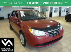 Hyundai Elantra GL**GARANTIE 10 ANS** 2009