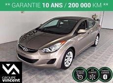 Hyundai Elantra GL**SIÈGES CHAUFFANTS** 2013