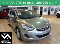 Hyundai Elantra LE**CLIMATISEUR** 2013